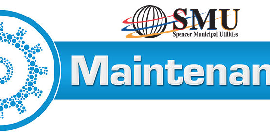 SMU logo with blue gear graphic and the text: maintenance