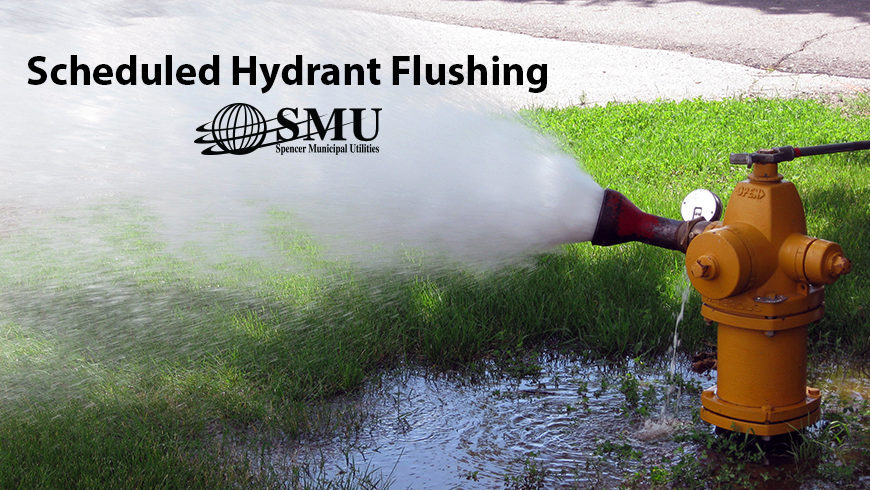SMU's Scheduled Hydrant Flushing