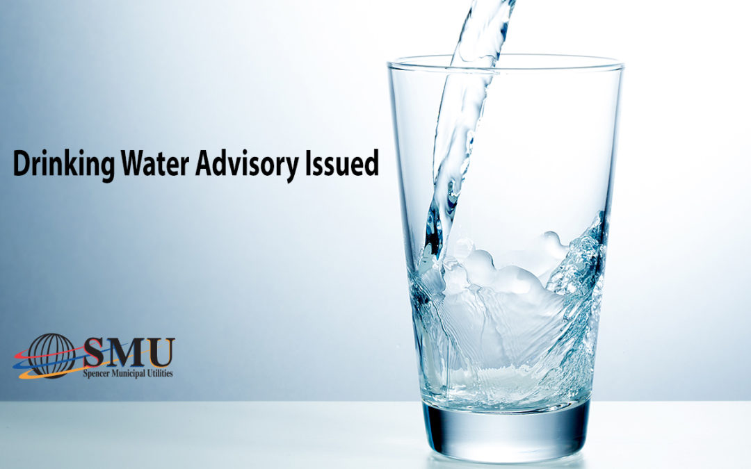 Drinking Water Advisory Issued for 40 Addresses