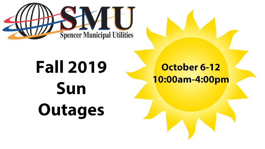 Sun Outages October 6-12, 2019