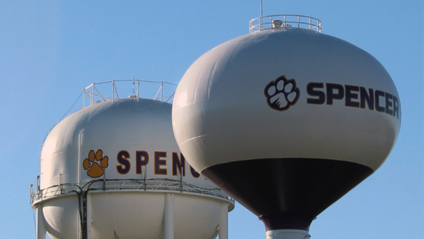 NEW SMU WATER TOWER CLOSE TO BEING OPERATIONAL