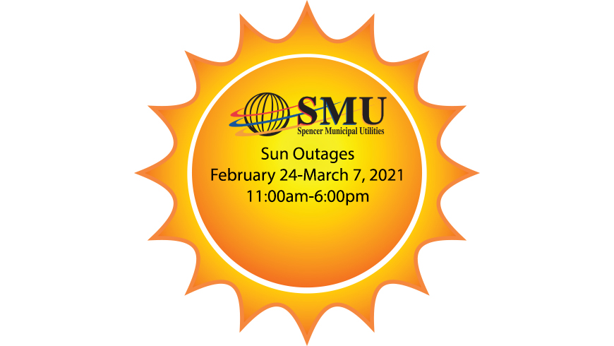 Sun Outages February 24-March 7, 2021