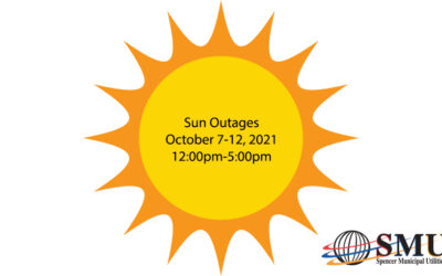 Sun Outages October 7-12, 2021
